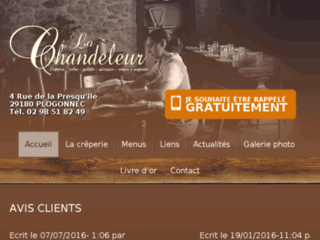 La Chandeleur, crêperie bretonne à Plogonnec, Finistère