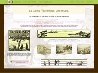 Histoire de la Corse Touristique