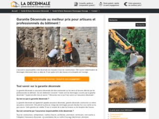 Aperçu du site Le Décennale