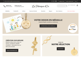 La Fabrique d'Or - Bijoux Or 18K ou 9K personnalisés