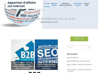 Détails : lafeste.fr, apporteur d'affaire