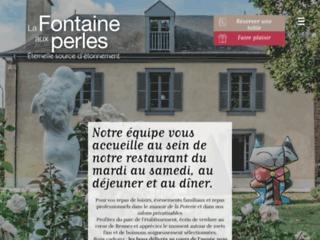 La fontaine aux perles à Rennes
