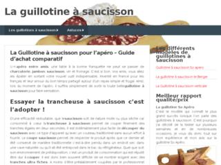 image du site http://www.laguillotine-saucisson.fr/