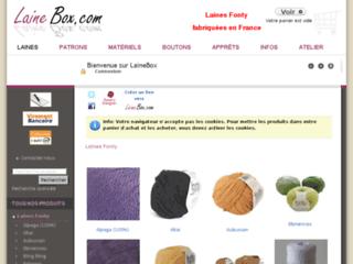 Laine et kits à tricoter- LaineBox.com