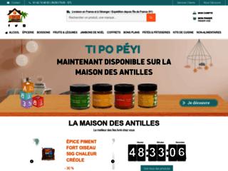 """La Maison des Antilles """"Site de vente en ligne de produits antillais"""""""