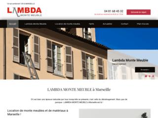 Location de monte meuble à Marseille