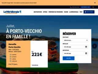 La M�ridionale - Compagnie maritime Marseille Corse
