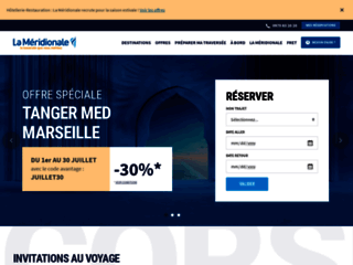 La Méridionale - Compagnie maritime Marseille Corse