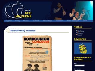 Bagad Landerne - Orchestre de bombardes