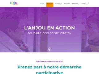 L'Anjou en Action solidaire écologiste citoyen