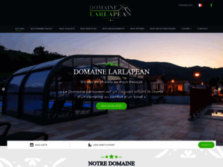 Camping Larlapean - Chalets Pays Basque