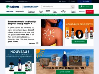 Aperçu du site LaSante.net