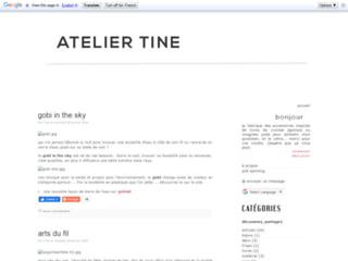 Latelier-de-Tine.fr - Création de tutoriels et modèles crochet