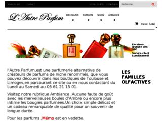 Boutique de parfums haut de gamme de créateurs et de bijoux fantaisie de luxe