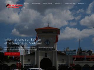 Capture du site http://www.lavieasaigon.fr/