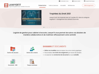 Capture du site http://www.lawyerit.fr