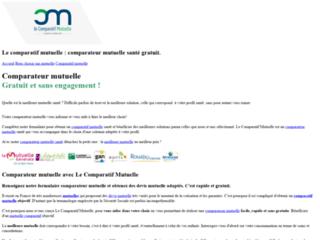 Comparateur de mutuelle santé en ligne sur http://www.le-comparatif-mutuelle.fr