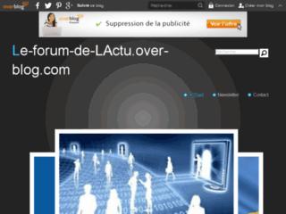 Le forum de l' Actu