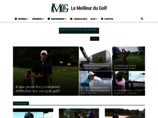 Capture du site http://www.le-meilleur-du-golf.com/