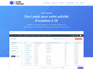 Détails : Leads Fabrique