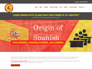 Learn Spanish Language In Gurgaon