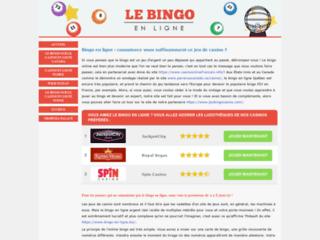 Jeux de bingo gratuit