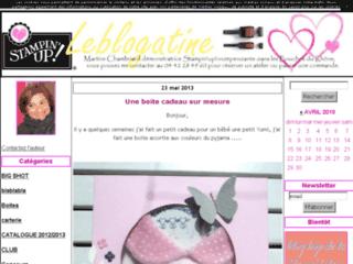 Blog de carterie et scrapbooking - Leblogatine
