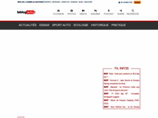 Le blog auto : actualités automobiles et sport automobile
