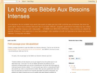 Blog des bébés aux besoins Intenses
