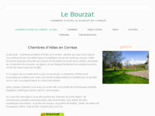 Week end en Corrèze: Le Bourzat chambres d'hôtes bed and breakfast