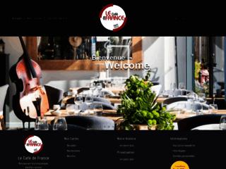 Détails : Le Café De France
