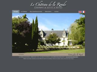 Aperçu du site La Château de la Ronde