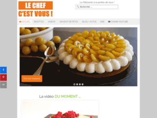 Détails : recette de pâtisserie