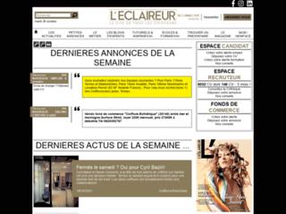 L'Eclaireur, l'hebdo des coiffeurs : emploi, actus, techniques, annuaires,...