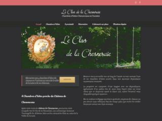 Chambres d'hôtes Le Clos de La Chesneraie St Georges surCher, proximité du château de Chenonceau