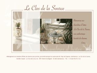 Chambres d'hôtes : Le Clos de la Source. Week end de charme dans le Var.