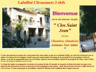 Chambres d'hôtes du Clos Saint Jean. Week end à  Cuers dans le Var en Provence