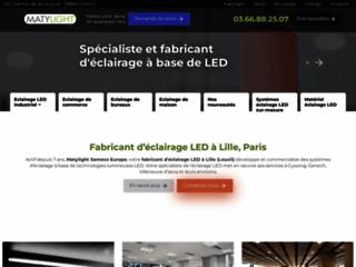 Fabricant d'éclairage LED industriel Lille, Paris