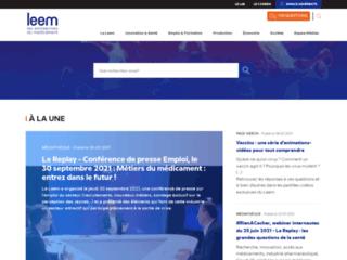 Les Entreprises du Médicament - Leem sur http://www.leem.org