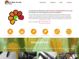 Agence webmarketing le grain de web