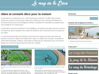 Aperçu du site Lemagdeladeco.com