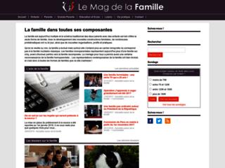 Aperçu du site Lemagdelafamille.com