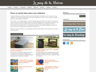 Aperçu du site Le Mag de la Maison