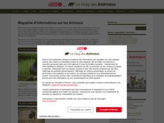 Aperçu du site Le Mag des Animaux