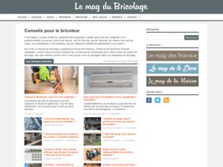 Aperçu du site Lemagdubricolage.com