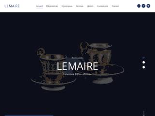 Vente de porcelaine ancienne - Lemaie SA
