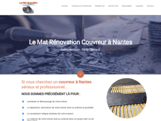 Détails : Couvreur professionnel de méiter dans la région Nantaise