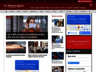 Le Matin DZ - Actualité Algérie au quotidien