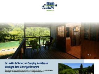 Camping Dordogne avec piscine et lac