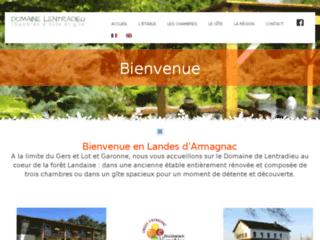 LENTRADIEU Chambres d'hôtes en Gascogne, Landes